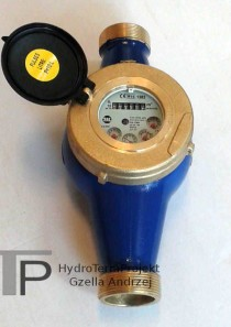 Wodomierz wielostrumieniowy DN40 Q3 16 m3/h