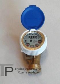 Wodomierz jednostrumieniowy DN25 Q3 6,3 m3/h