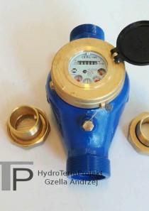 Wodomierz wielostrumieniowy DN50 Q3 25 m3/h