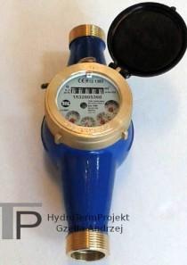 Wodomierz wielostrumieniowy DN25 Q3 6,3 m3/h